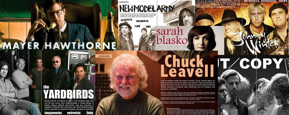Revista Som - Entrevistas Internacionais