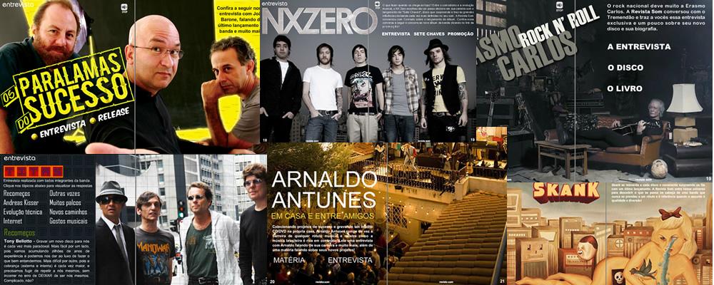Revista Som - Entrevistas Nacionais